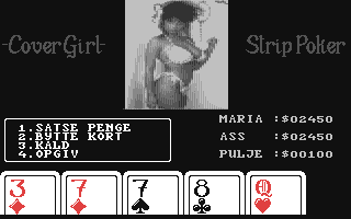 Screenshot for CoverGirl Strip Poker