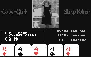 Screenshot for CoverGirl Strip Poker