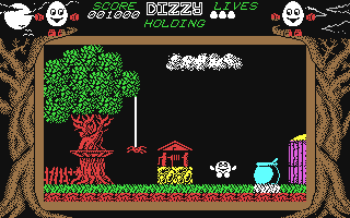 Screenshot for Dizzy - The Ultimate Cartoon Adventure