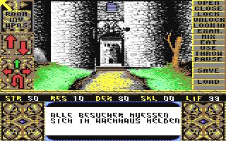 Screenshot for Elvira - Mistress of the Dark