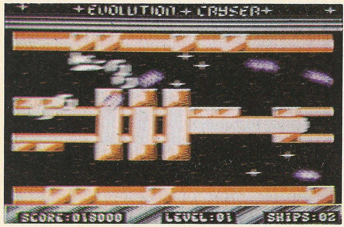 Screenshot for Evolution Crysor