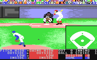 Screenshot for HardBall! II