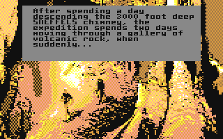 Screenshot for Journey to the Center of the Earth