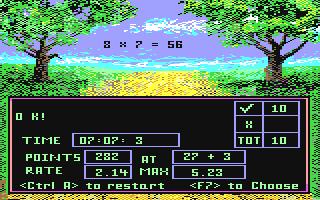 Screenshot for Math Run