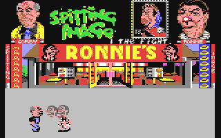 Screenshot for Spitting Image - The Computer Game